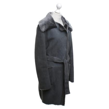 Dolce & Gabbana Mantel in Grau