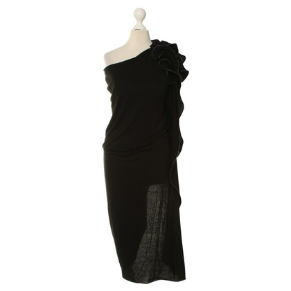 Anne Valerie Hash Dress in black