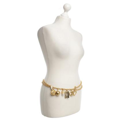 Moschino Belt in gold