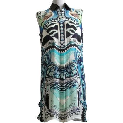 Mary Katrantzou zijden jurk