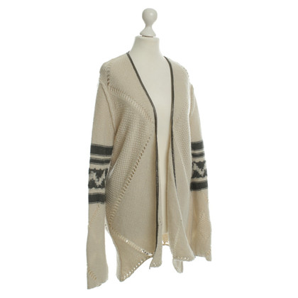 Zadig & Voltaire Cardigan with lace pattern