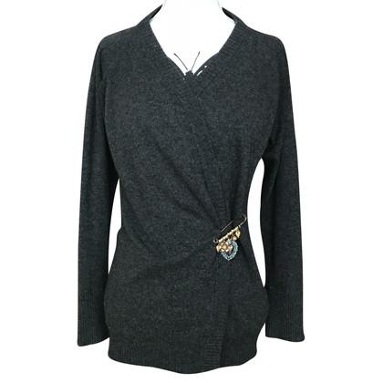 Dolce & Gabbana Cashmere Grey Cardigan