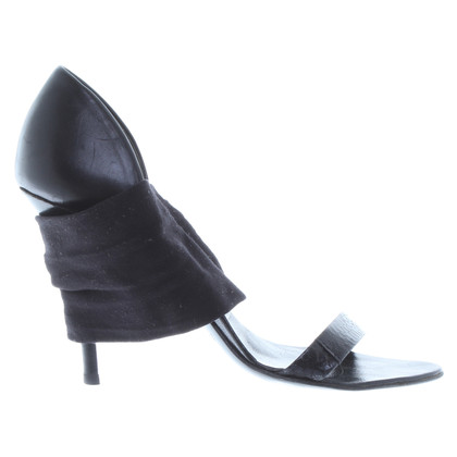 Helmut Lang Sandals with fabric belt