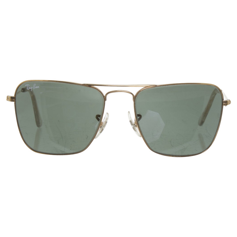 ray ban grünes glas