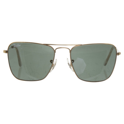 Ray Ban Sunglasses with green glasses