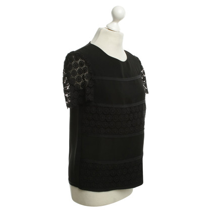 Moschino Cheap and Chic Spike top in black