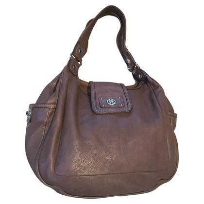 Marc by Marc Jacobs Brown leather shopper