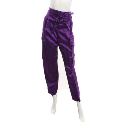 Gucci Satin pants in purple