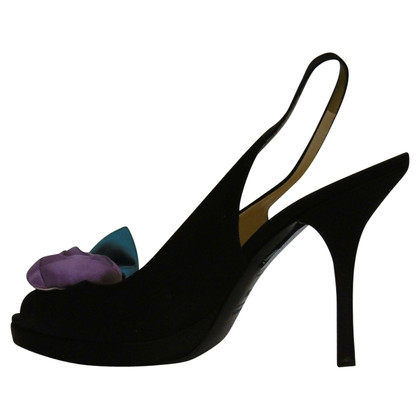 Prada Peep-toes in black