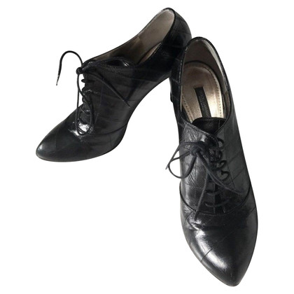 Dolce & Gabbana Patent leather-pumps with lacing