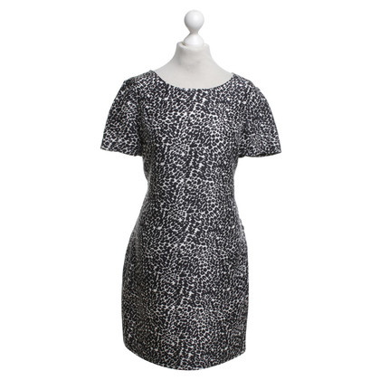 Hobbs zijden jurk met patroon