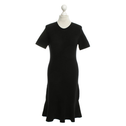 Balenciaga Dress in black with peplum