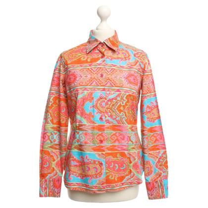 Bogner Blouse met kleurrijke patronen