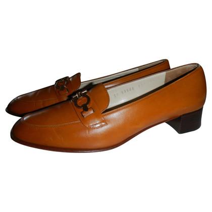 Salvatore Ferragamo scarpe pelle