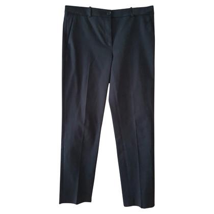 Jil Sander Blue 7/8 trousers