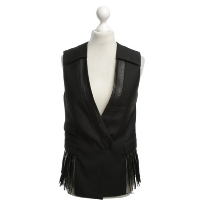 Alexander Wang Vest with Pleated Pleats