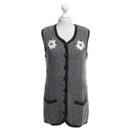 Rena Lange Knitted vest with embroidery