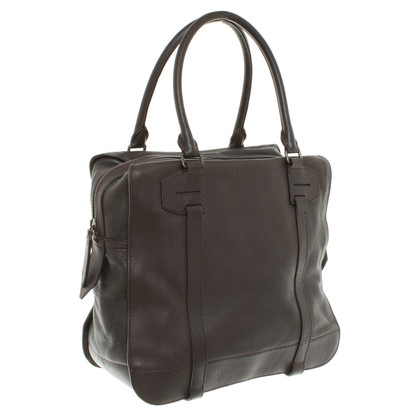 Burberry Shopper aus Leder