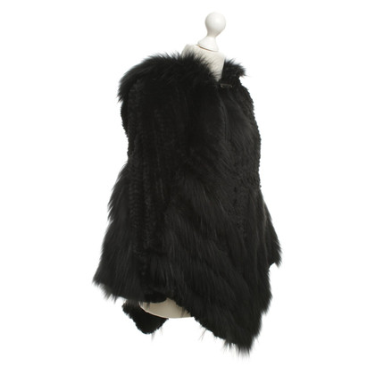 Other Designer Poncho Fur