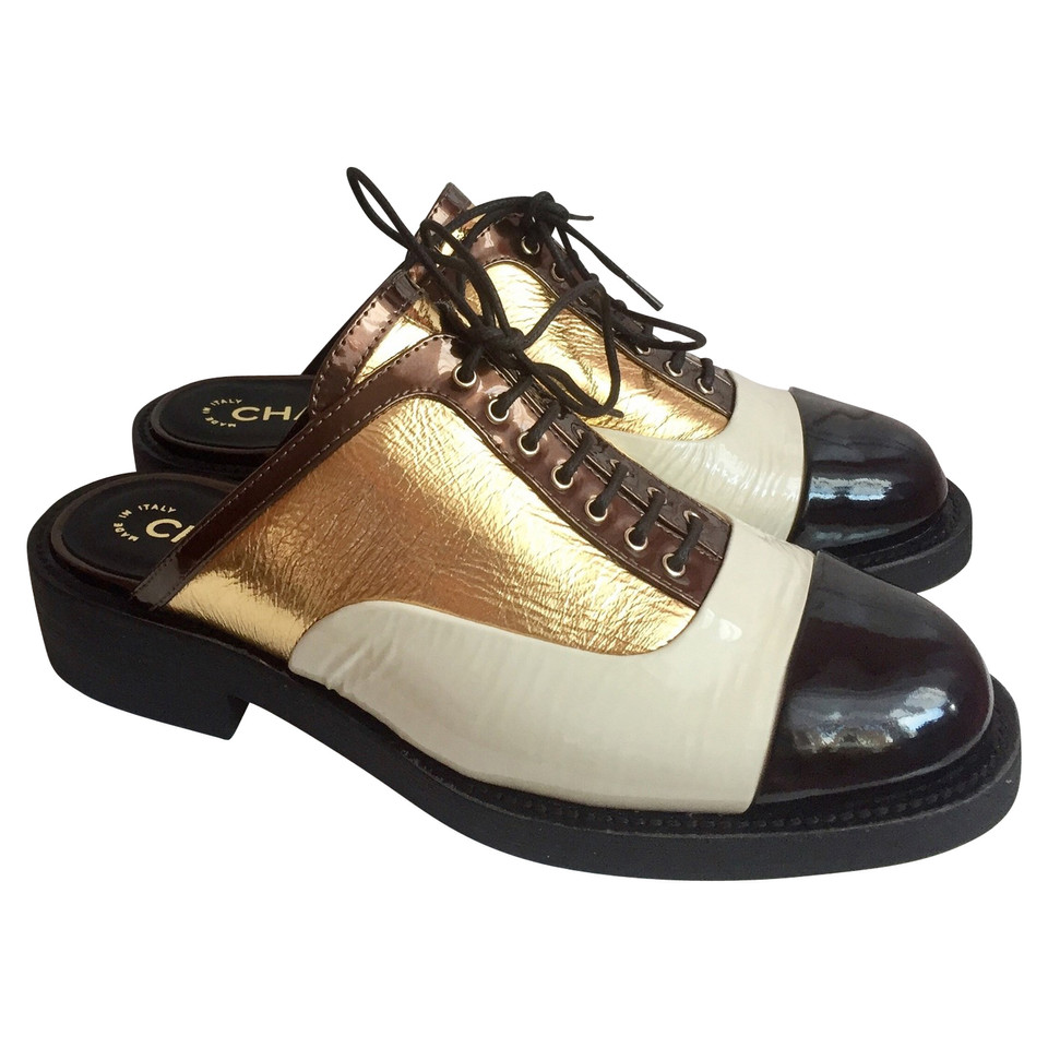 Chanel Oxford Clogs