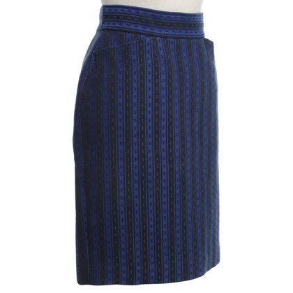 Kenzo skirt in blue / black