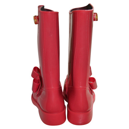 Red Valentino rubber boots