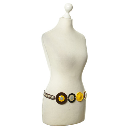 Marni Vintagegürtel stravagante