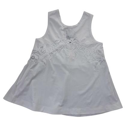 Ermanno Scervino tunica bianca