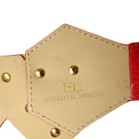 Elisabetta Franchi Leather belt