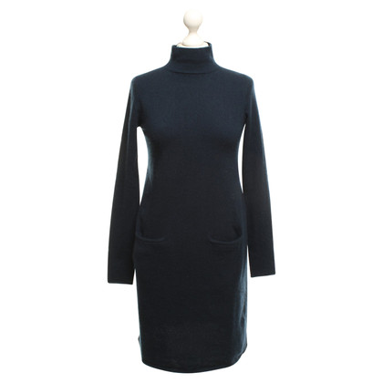 Allude Cashmere dress in dark blue