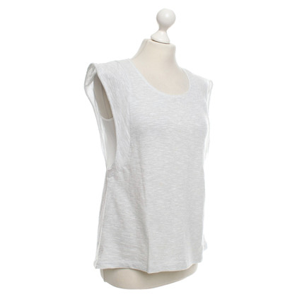 Drykorn T-shirt in wit / zilver