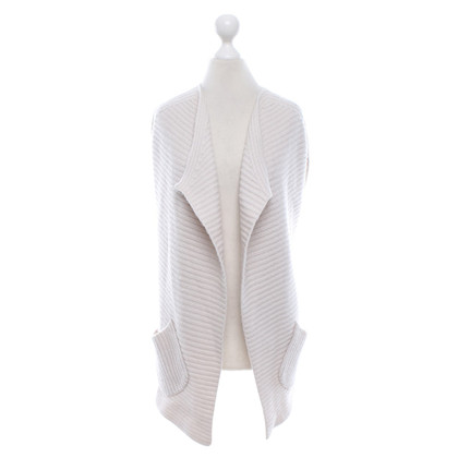 Allude Strickweste in Creme
