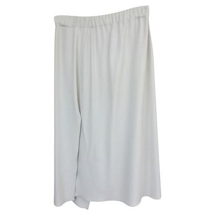 Brunello Cucinelli crepe wrap skirt