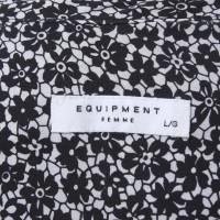 Equipment Camicetta di seta con motivo