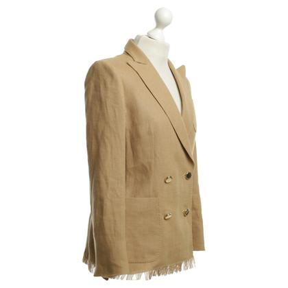 Max Mara blazer di lino