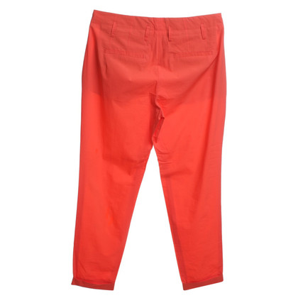 Schumacher trousers in orange