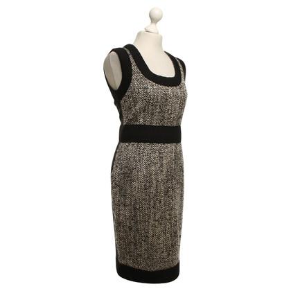 D&G Knit dress in salt and pepper look