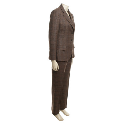 Salvatore Ferragamo Tailleur pantalone in Brown