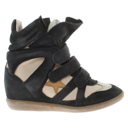 Isabel Marant Sneaker wedges in blue