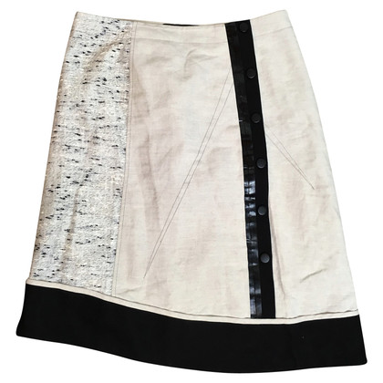 Derek Lam skirt from material mix