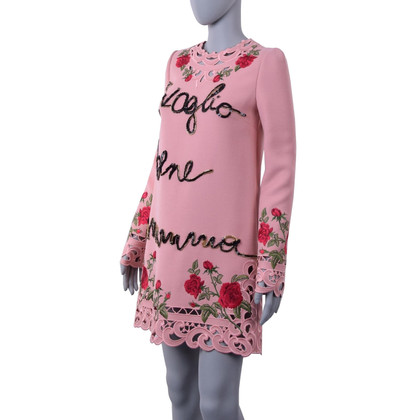 Dolce & Gabbana Dress with roses embroidery