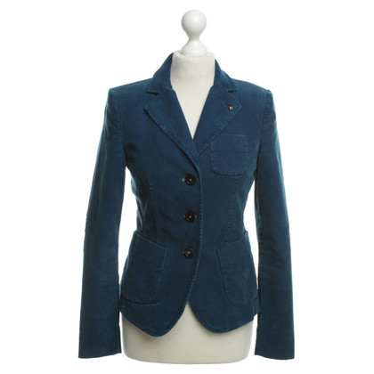 Blonde No8 Corduroy Blazer in teal