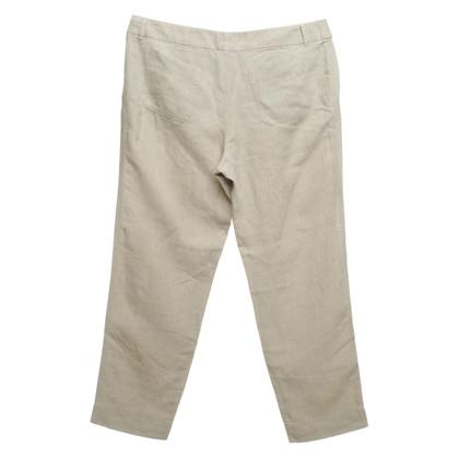 Max Mara pantaloni di lino
