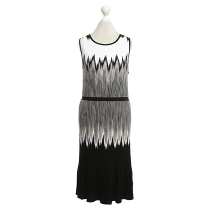 Missoni Dress in black / white