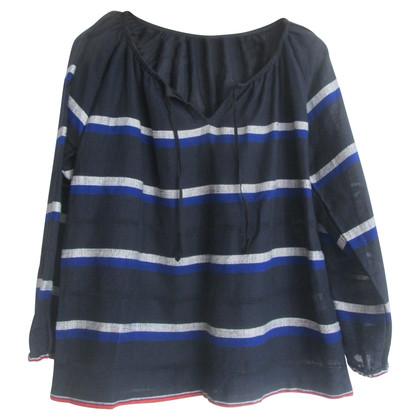 LemLem Tunika Bluse mit Streifen