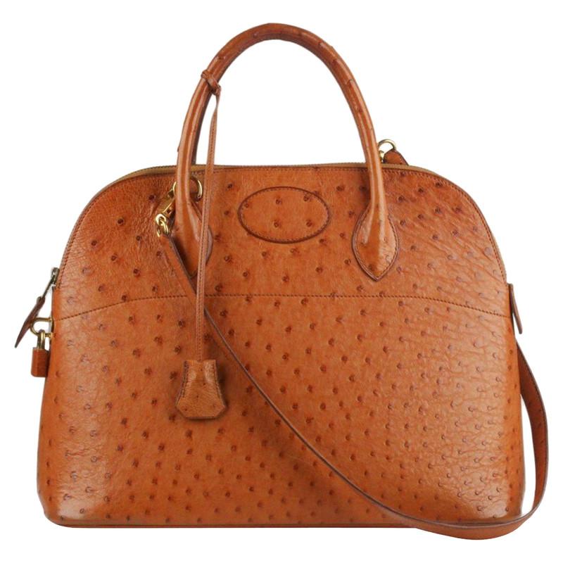a176ff7aad ... switzerland hermès bolide bag 35 ostrich leather 8a3ff 0ba92