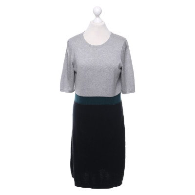 Hobbs Knit Dress In Tricolor