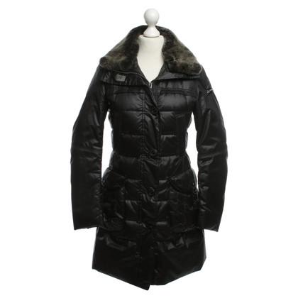 Peuterey Giù cappotto nero