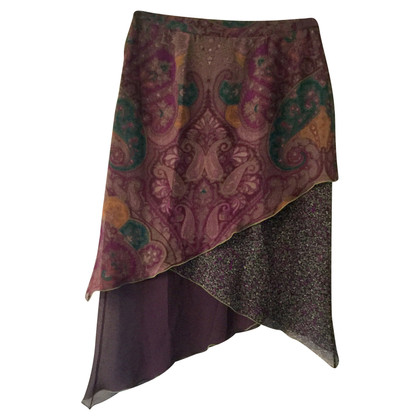 Etro silk skirt
