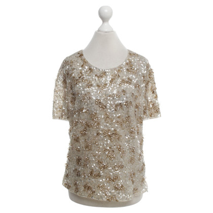 Escada Top con paillettes